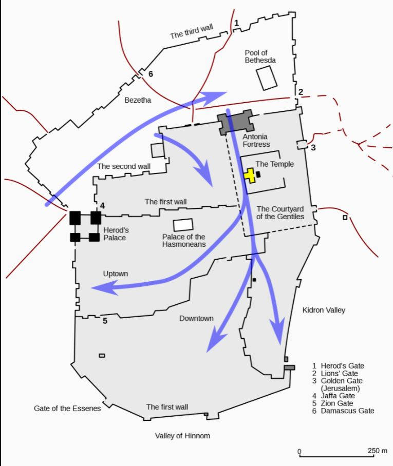 Siege of Jerusalem in  astrology