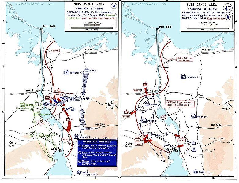 Yom Kuppur War in 1973