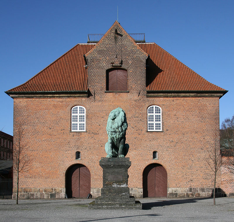 The Flensburg or Istedt Lion after it was given back to Denmark in 1945 was placed near the Royal Danish Arsenal Museum right on the divide between Leo and Virgo at 0° Virgo and 15° Sagittarius the sign of victory and triumph.