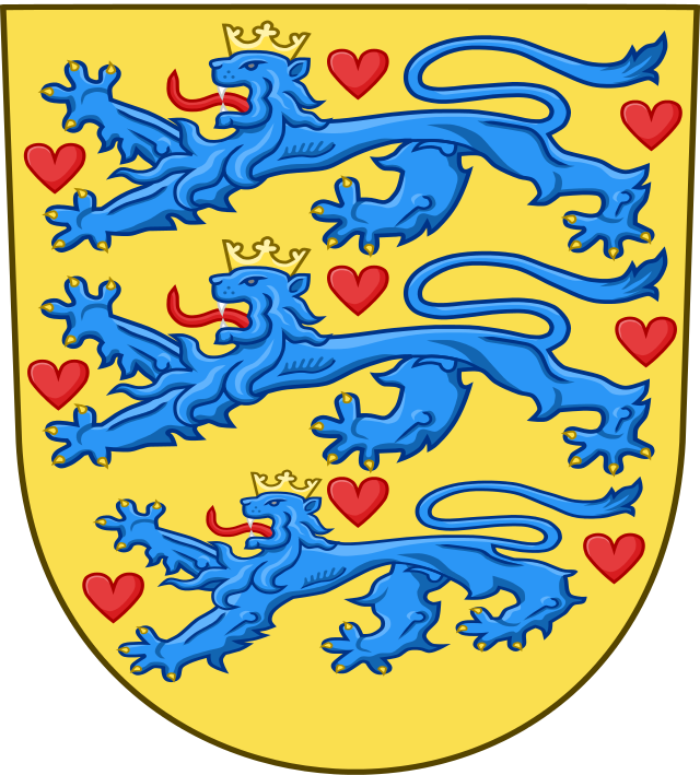 National Coat of Arms of Denmark Authors: User:Galico, User:Derfel73 license: ccbysa3.0