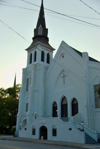 Emanuel African Methodist Episcopal (AME) Church  photo: Cal Sr, ccbysa2.0