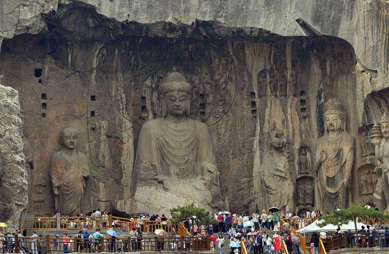 The Longmen Grottoes at Luoyang