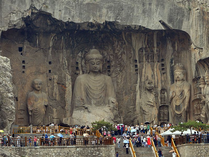 Buddhist architecture + art: the Longmen Grottoes