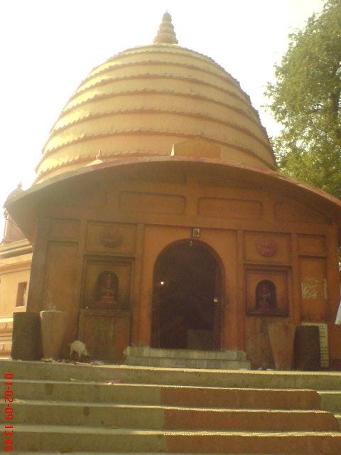 Navagraha temple in Guwahati located in Capricorn with Sagittarius photo: Saptarshi Chowdhury, ccbysa3.0