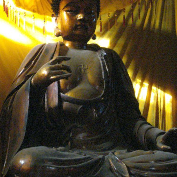 Buddha Shakyamuni at the White Horse temple in Luoyang photo: Kwz ccbysa3.0