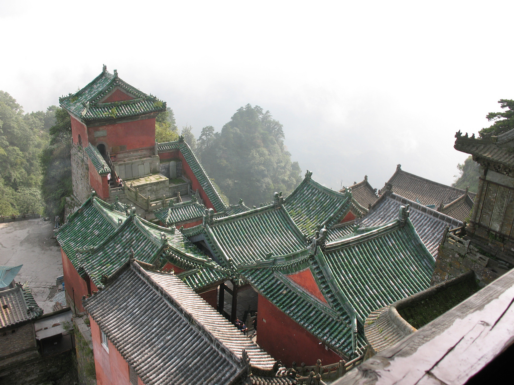 Golden Hall on top of Wudang Mountain. photo: Seth Kramer, ccbysa2.0