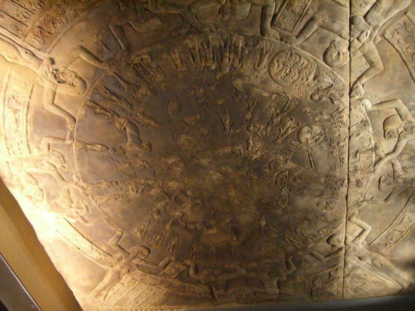 Zodiaque de Denderah - Période ptolémaïque et romaine - Musée du Louvre