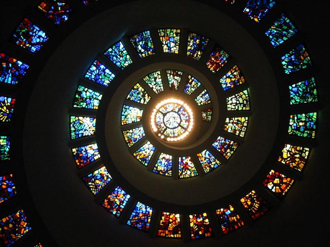 Thanksgiving Chapel - Dallas located in Sagittarius with Leo photo: RadicalBender, ccbysa3.0