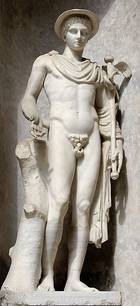 Hermes the greek origin of the roman god Mercury