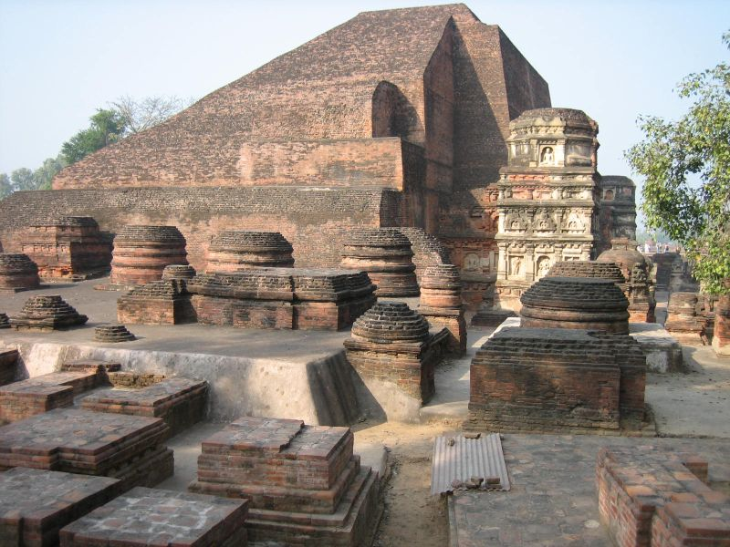 Nalanda University located in Sagittarius with Taurus photo: Prince Roy, ccbysa2.0