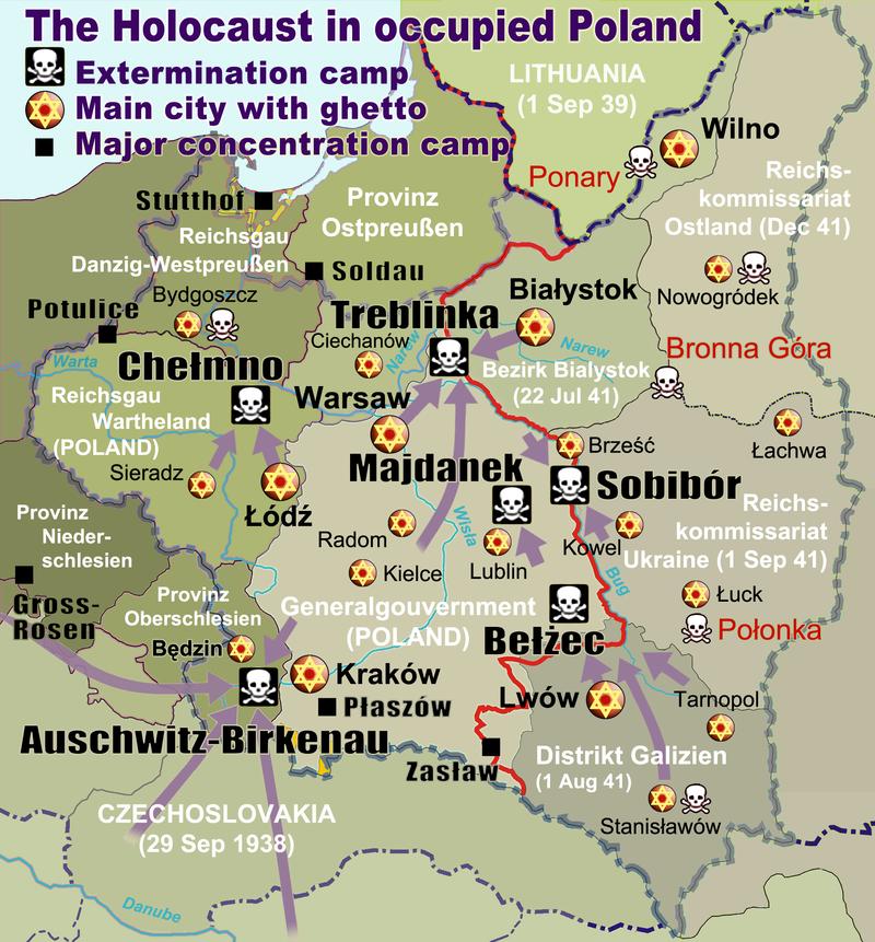 German Extermination Camps