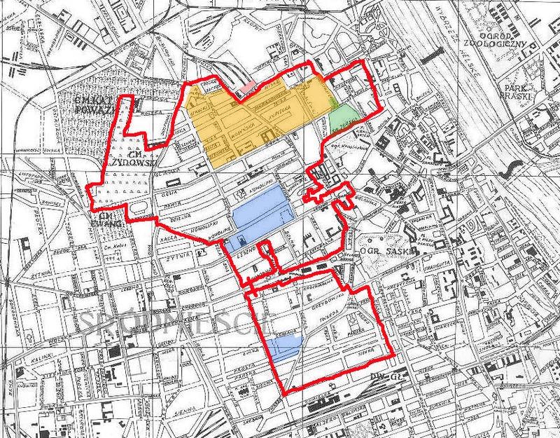 Warsaw Ghetto Map photo: Lihagen, ccbysa3.0