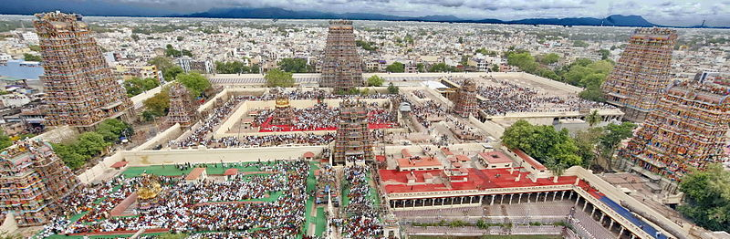 Meenakshi Aman Temple in astrology