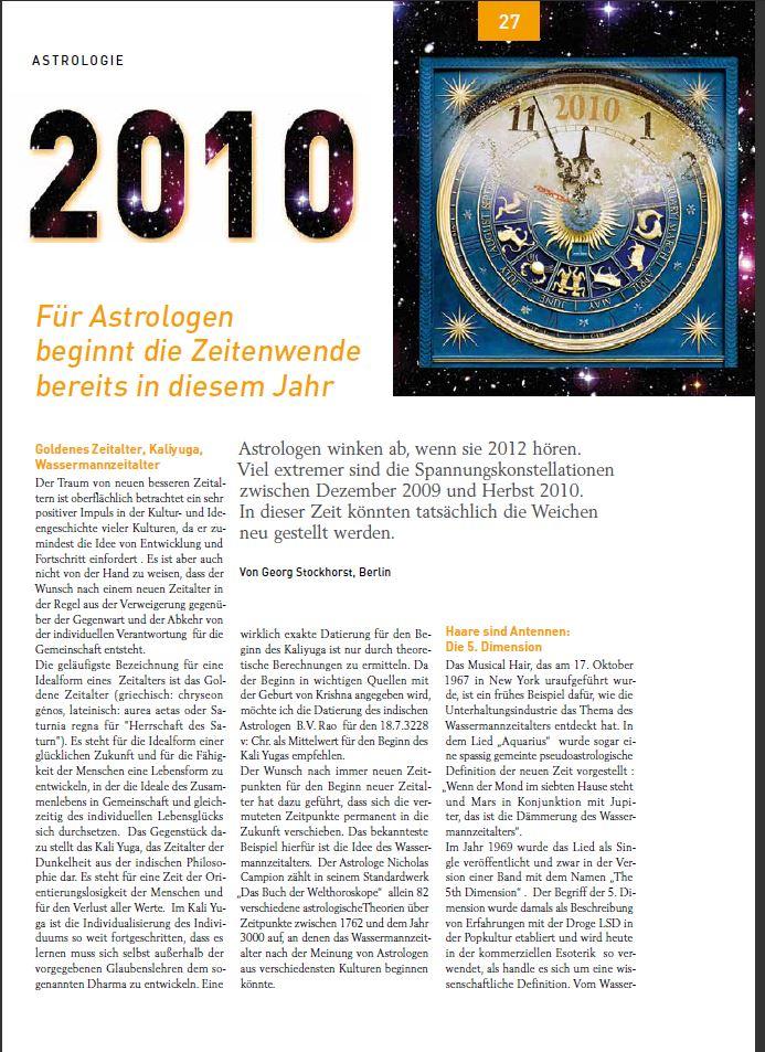 Auszug aus einem Artikel von mir in der Zeitschrift raum & zeit aus dem Jahr 2010