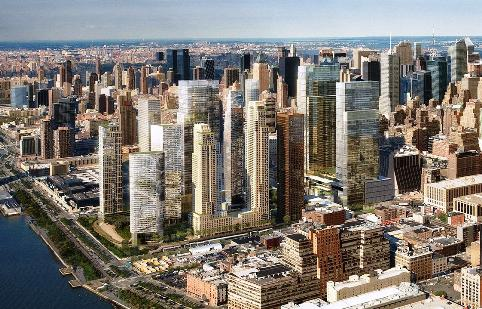 The Hudson Yards Rededevolopment Project area in double Capricorn photo: from wikimedia commons, fair use