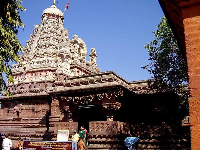 Ghrishneshwar Temple near Ellora Caves, Maharashtra has both coordinates in Capricorn photo: Rashmi.parab, ccbysa3.0