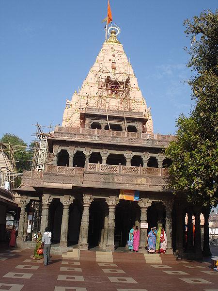 Mahakaleshwar Temple at Ujain, Madhya Pradesh located in Leo with Cancer, photo: LRBurdak, GNU/FDL