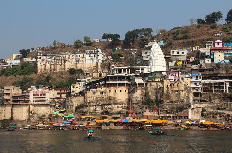 Omkareshwar Temple has both coordinates in Cancer. photo: Bernard Gagnon, GNU/FDL