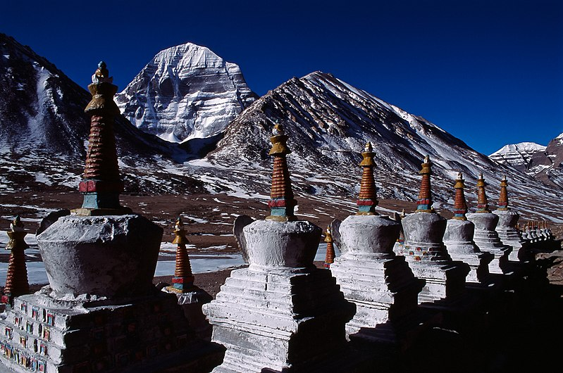 Mount Kailash in Cancer with Capricorn
