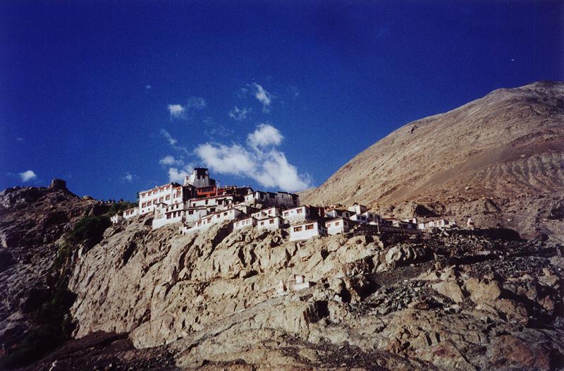 Diskit Monastery located in Libra with Aquarius photo: Krokodyl, ccbysa3.0