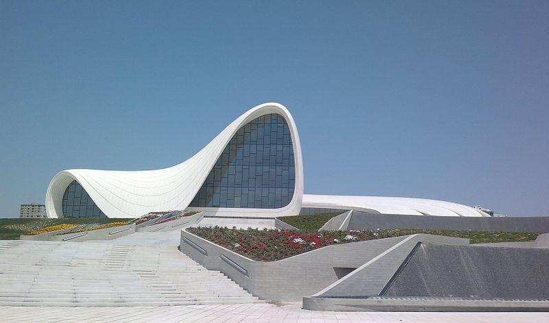 Heydar Aliyev Centerin Baku located in the combination of Leo with Gemini
