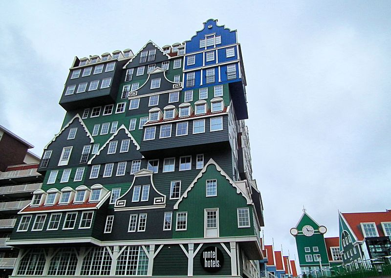 Inntel Hotel Zaandam located in Virgo with Taurus photo: Microtoerisme