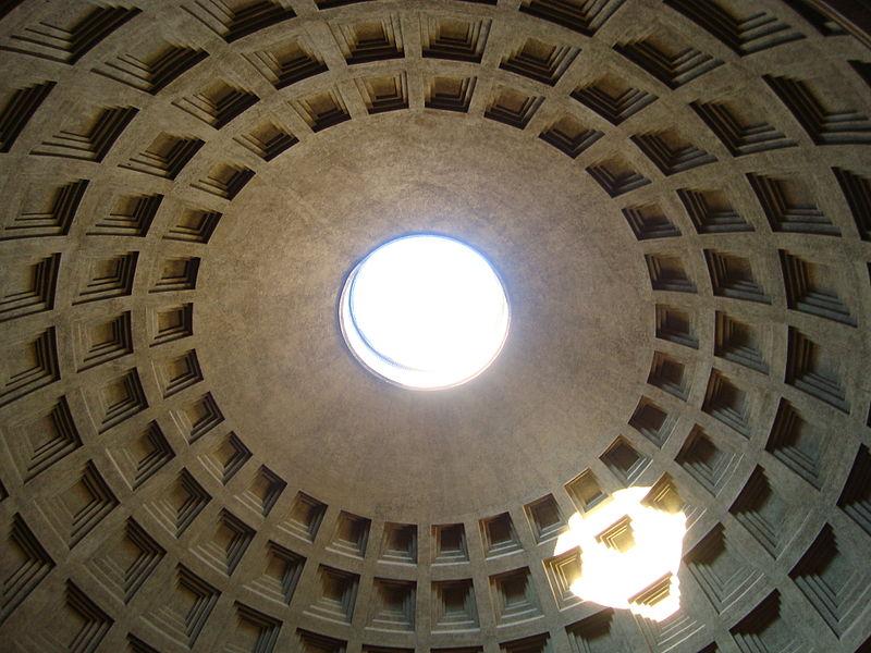 Das Pantheon in Rom in der Kombination der Tierkreiszeichen Schütze und Krebs photo: perlblau, GNU/FDL