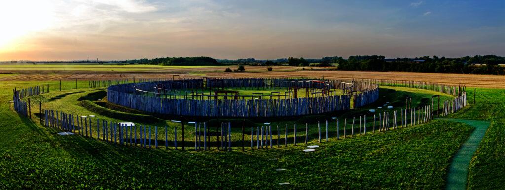 Kreisgrabenanlage und Sonnenobservatorium  Pömmelte
