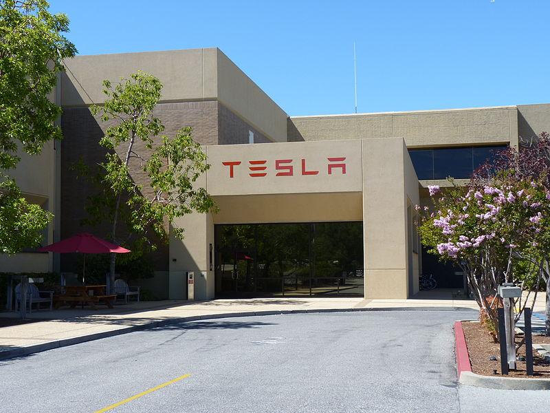 Tesla Motors Head Quarters in Palo Alto located in photo: Tumbenhaur, ccbysa3.0