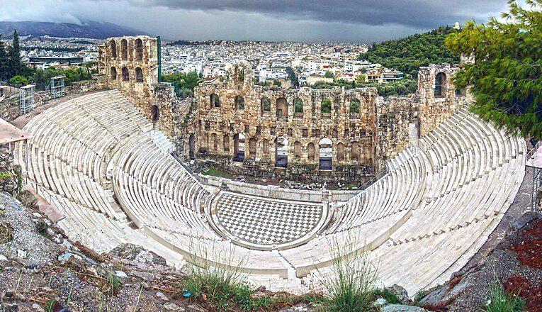 Das Odeon des Herodes Atticus und das Ideal der Hochkultur