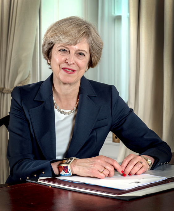 Theresa May appointed as Prime Minister