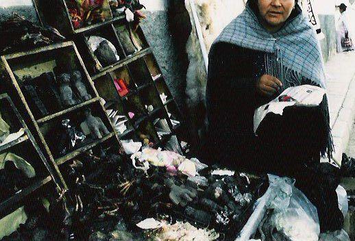 Hechiceria Witchcraft Market in La Paz, Bolivia photo: SHIBUYA K., ccbysa3.0