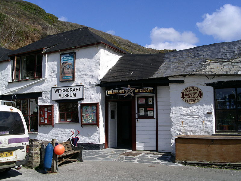 Museum of Witchcraft & Magic in Boscastle located in Scorpio with Virgo photo: JUwel, GNU/FDL