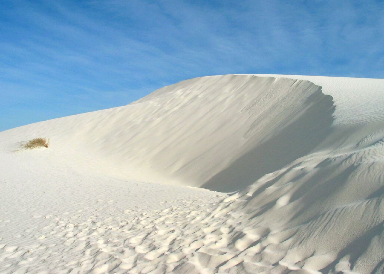 White Sands National Monument, New Mexico USA located in Capricorn with Cancer
