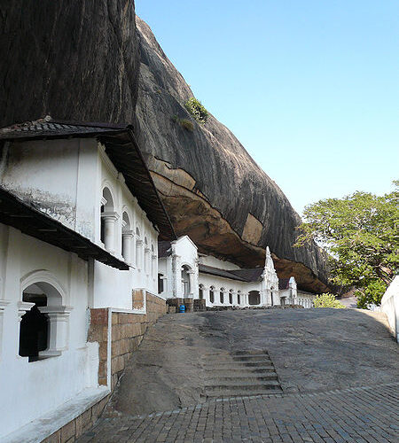 Dambulla Cave Temples: magical art in Leo with Pisces