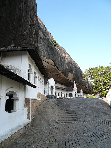 Dambulla cave temples in astrology