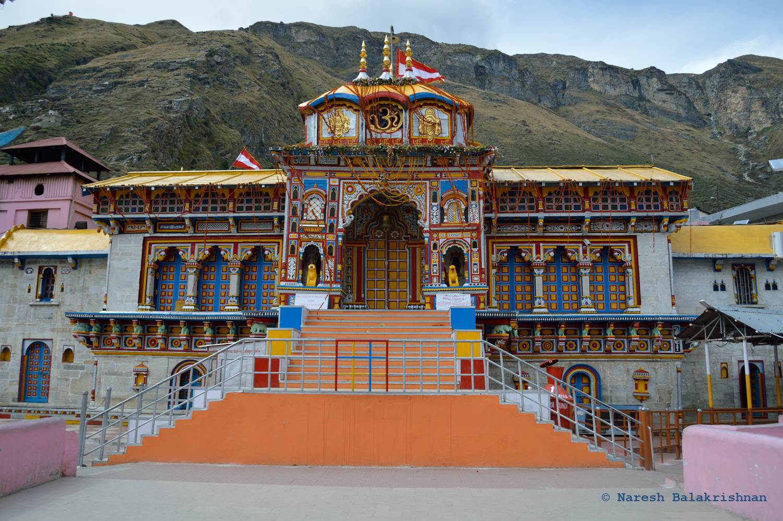 Bardinath temple located in Sagittarius with Gemini photo: Naresh Balakrishnan, ccbysa4.0