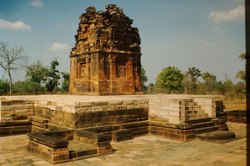 Dasavatara temple located in Scorpio with Virgo