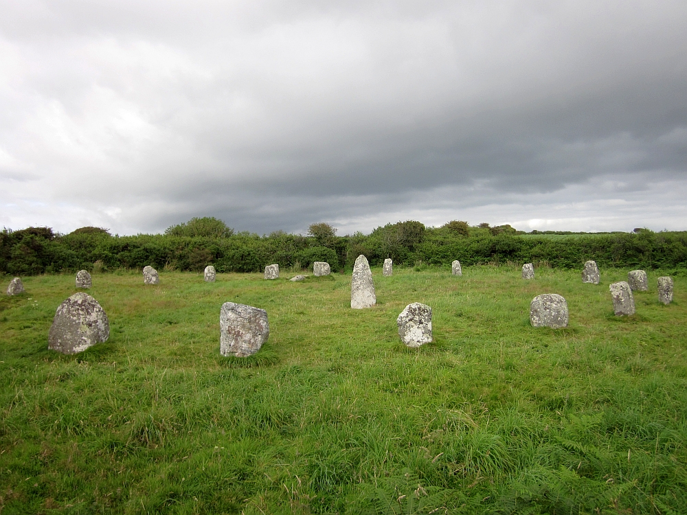 Boscawen-Un Stone Circle in astrogeography