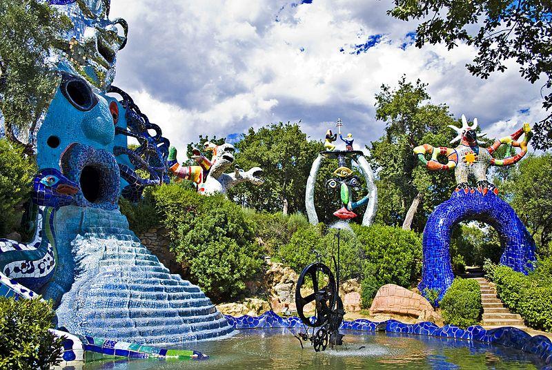 Niki de Saint Phalles Tarot Garden