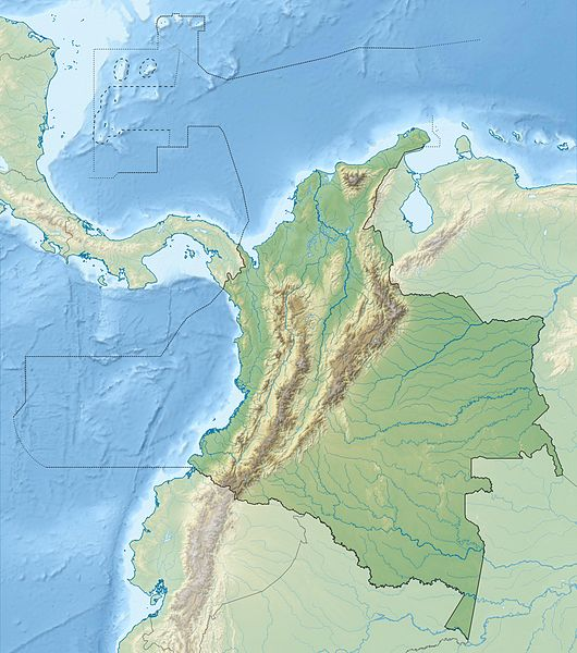 The 2017 Mocoa landslide in astrogeography