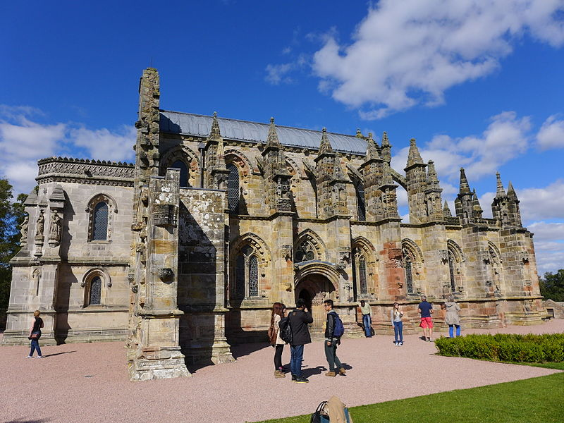 Rosslyn Chapel in astrogeography