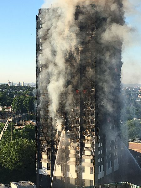 The Grenfell Tower fire in astrogeography