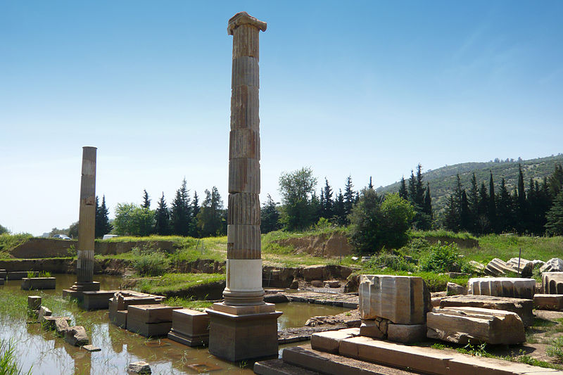 The Temple of the Oracle of Apollon Claros