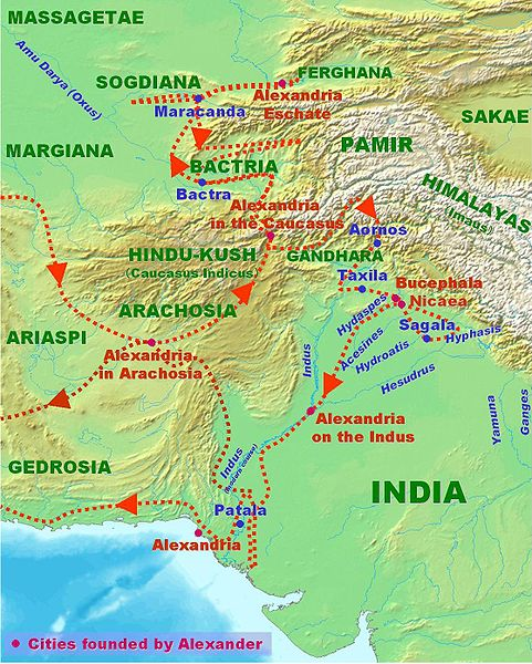 Astrology and Astrogeography of India and Alexander the Great