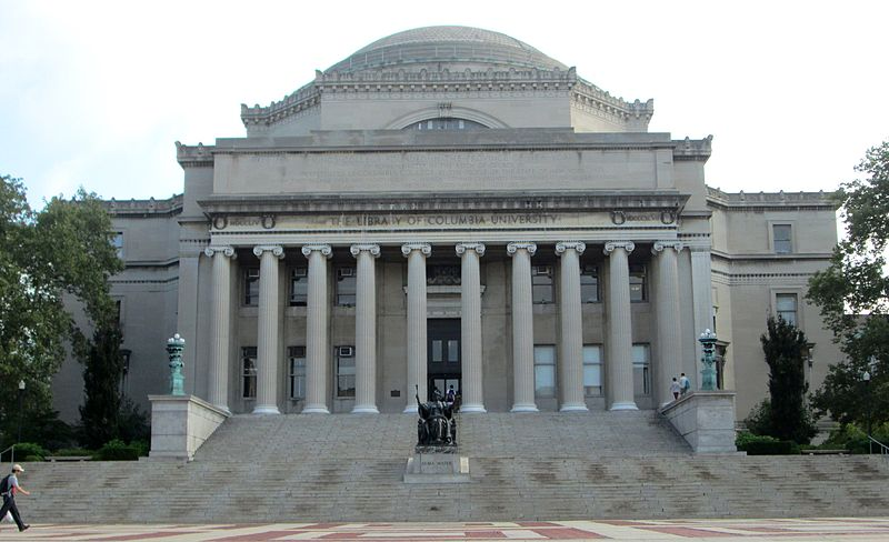 Astrology and astrogeography of Columbia University