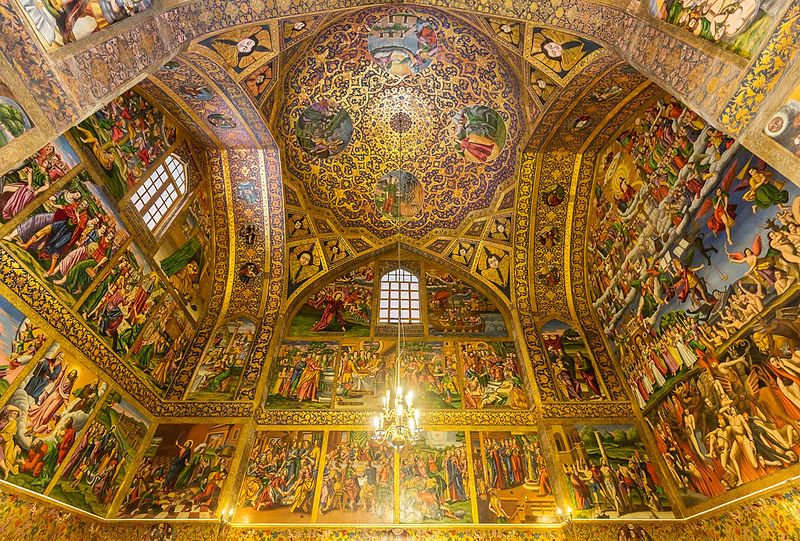 Vank Cathedral – an Armenian Church in Iran