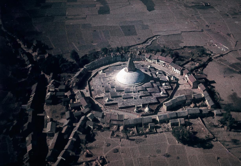 Stupas im Tierkreiszeichen Schütze