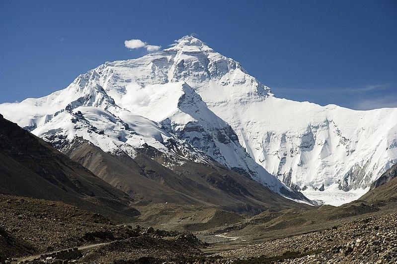 Edmund Hillary und Tensing Norgay auf dem Mount Everest