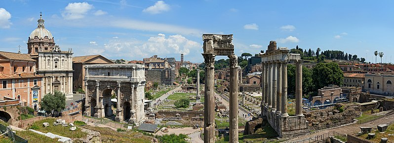 The astrogeographical position of Rome
